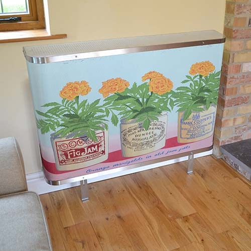 Jam Jars retro radiator cover by Couture Cases