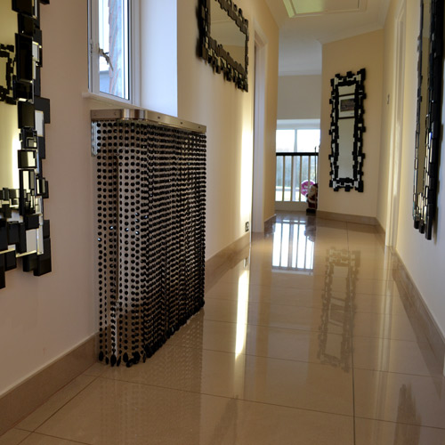 black-crystal-hallway-radiator-cover
