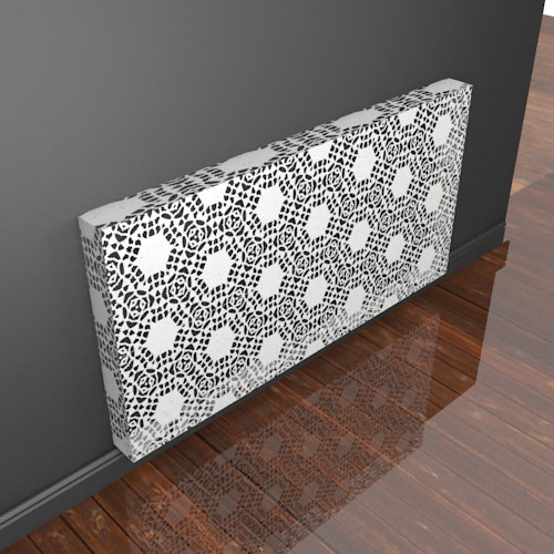 New Lace Designs Radiator Cover