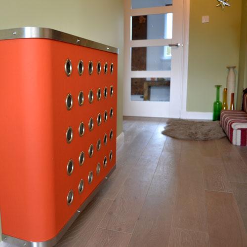 Zenith Orange Vinyl YOYO Radiator Cover