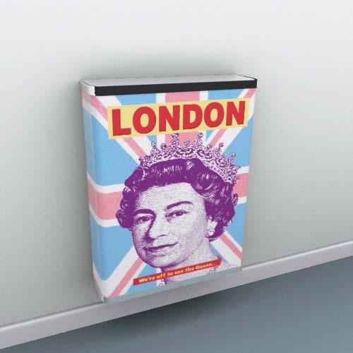 London Queen Radiator Cover