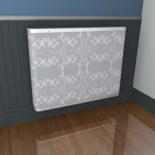 Mirrored Lace 1 Radiator Cover