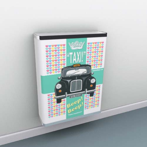 Taxi Radiator Cover