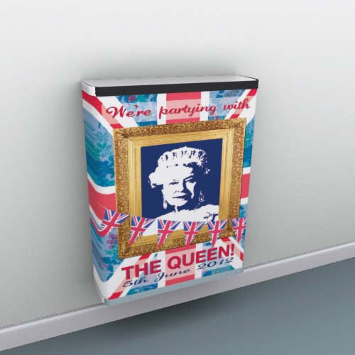 Her Majesty the Queen Radiator Cover