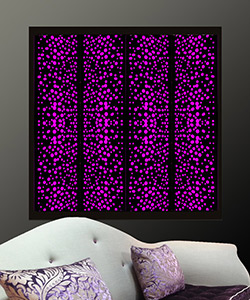 decorative window shutters with lights from Couture Cases